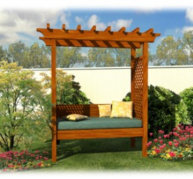 Garden Design With Build Your Own Backyard Arbor Bench Smithers Lumber Yard  With Small Backyard Landscape