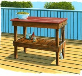 Outdoor Bbq Side Table.Bbq Side Table Smithers Lumber Yard Everything For The