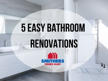 5 Easy Bathroom Renovations image