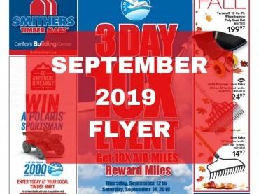 September 2019 Flyer image
