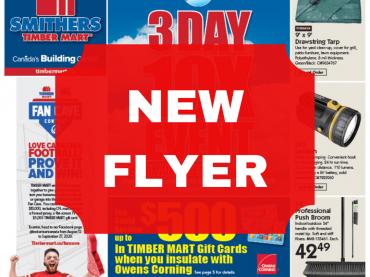 NEW FLYER! September 16-27, 2020 image