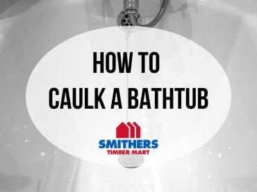 How To Caulk a Bathtub image