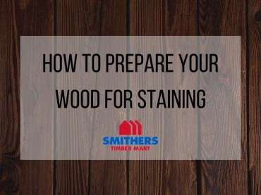 How To Prep Your Wood For Staining image