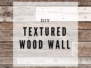 DIY Textured Wood Wall image