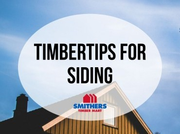 TimberTips: For Siding image