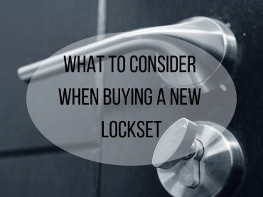 What To Consider When Buying A New Lockset image