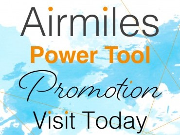 Airmiles Power Tool Promotion image