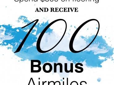 Flooring Airmiles Promo image