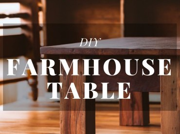DIY Farmhouse Table image