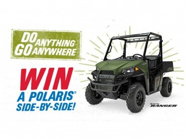 WIN A POLARIS SIDE-BY-SIDE image