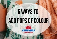 5 Ways To Add Pops of Colour image