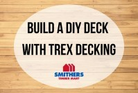 Building A DIY Deck With Trex Decking image