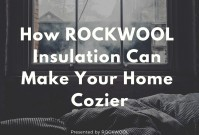 How ROCKWOOL Insulation Can Make Your Home Cozier image