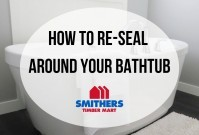 How To Re-Seal Around Your Bathtub image