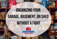 Storage Wars: Organizing Your Garage, Basement, or Shed Without a Fight image
