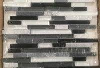 Centura Tile Cristallo Random Black, Grey, White Mosaic ~ $