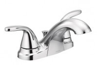 Moen Adler chrome 2-handle bathroom faucet - $74.99